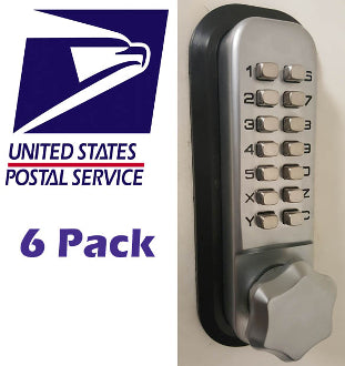 MECHANICAL KEYLESS DEADBOLT LOCK v.4 - PRIORITY MAIL (6 PACK)*