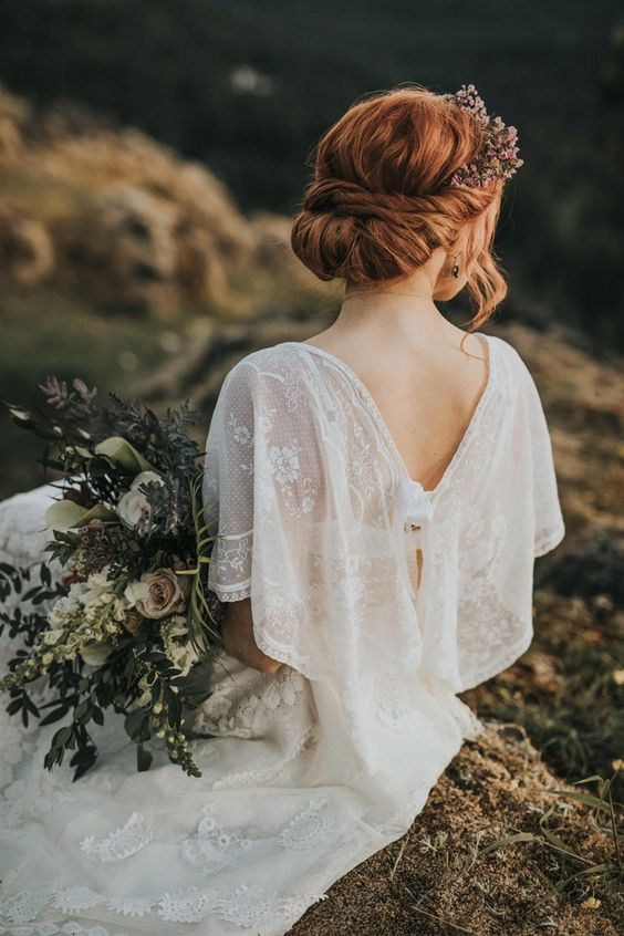 Four tips for getting your wedding updo to last all day