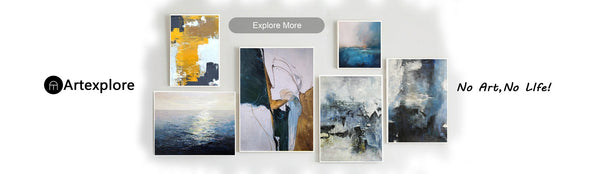 Decoration knowledge: How to choose the large Abstract Oil painting for Interior Decoration., News