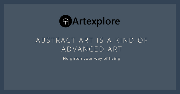Abstract art is a kind of advanced art!, News