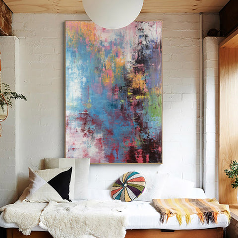 How To Choose affordable Modern Paintings For Living Room-artexplore
