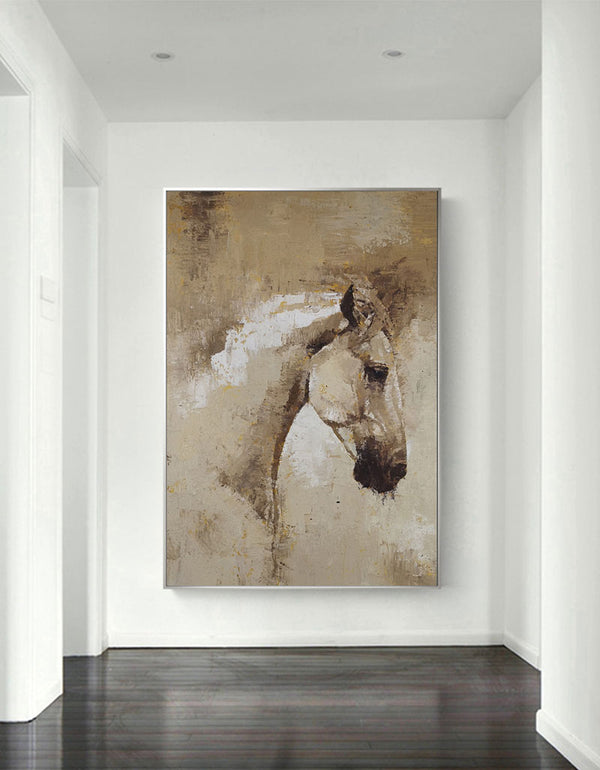 Contemporary Horse Art Abstract Horse Paintings On Canvas Equestrian Art