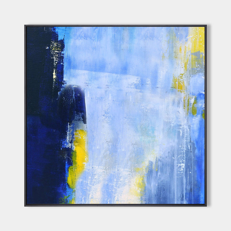 Blue Abstract Artwork Big Abstract Wall Art Blue Wall Art For Bedroom