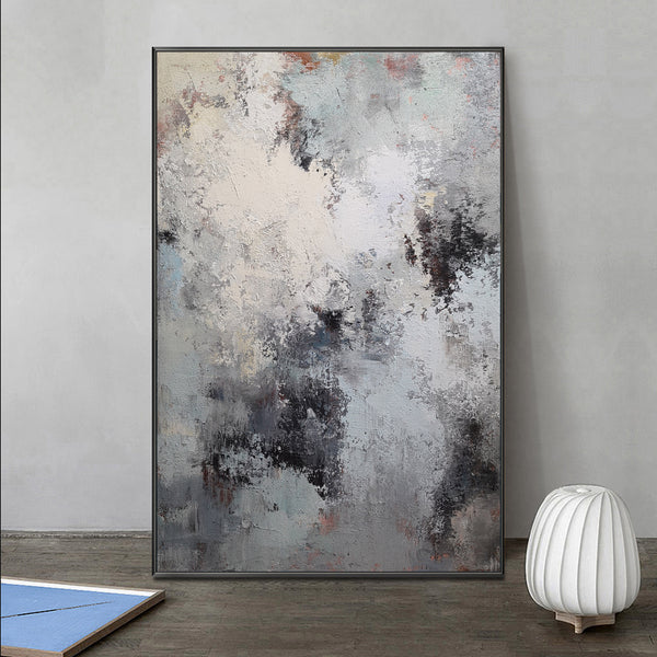 36 x 48 Vertical Modern Abstract Wall Art living room canvas art