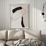 Minimal Acrylic Painting Paintings For Office Large Abstract Painting For Sale