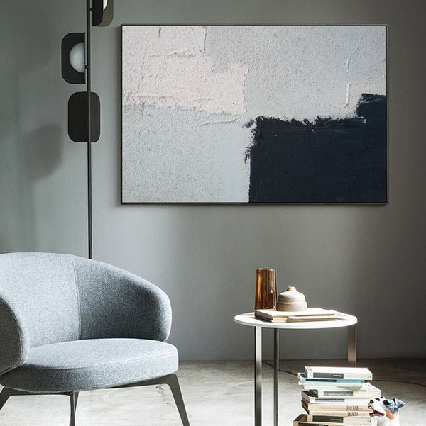 Minimalist Abstract Wall Painting Large Modern Minimalist Wall Art Big Paintings For Living Room