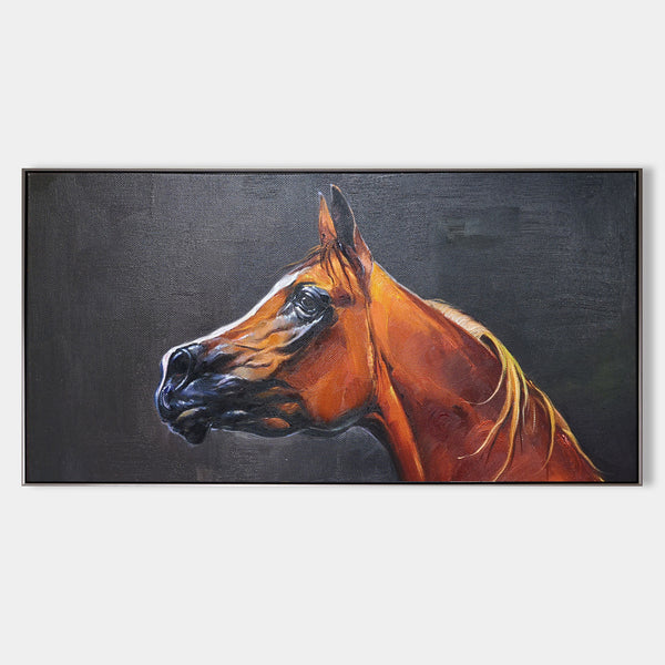 Original Horse Paintings Oversized Horse Wall Art Large Horse Artwork