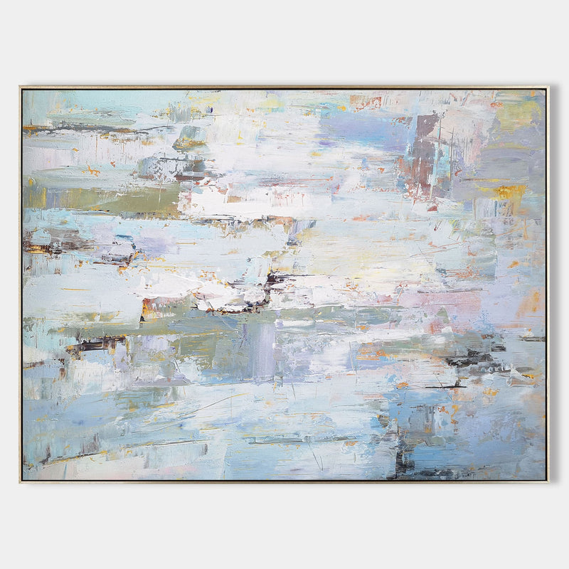 Large Modern Abstract Painting Extra Large Wall Art For Living Room