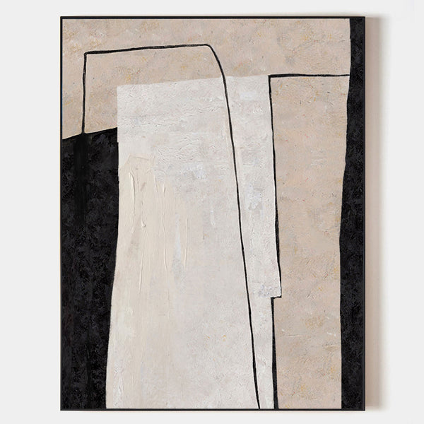 Extra Large Minimalist Painting Office Paintings Minimal Line Art