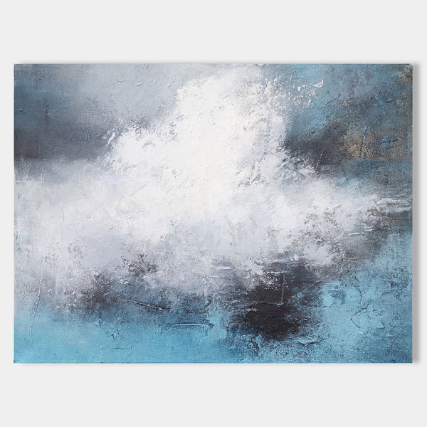 Ocean Paintings On Canvas Ocean Wave Art Impressionist Seascape Paintings