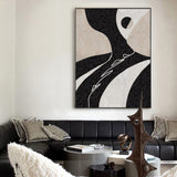 Extra Large Abstract Canvas Art Abstract Minimalist Painting Modern Minimal Wall Art