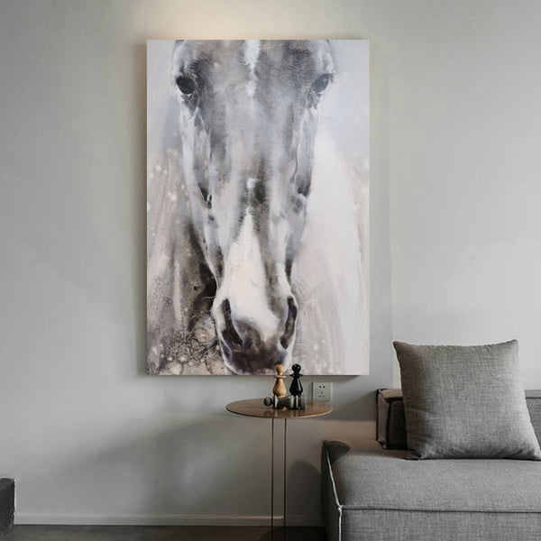Paintings Of Horses Heads Modern Horse Art Black And White Horse Paintings For Sale