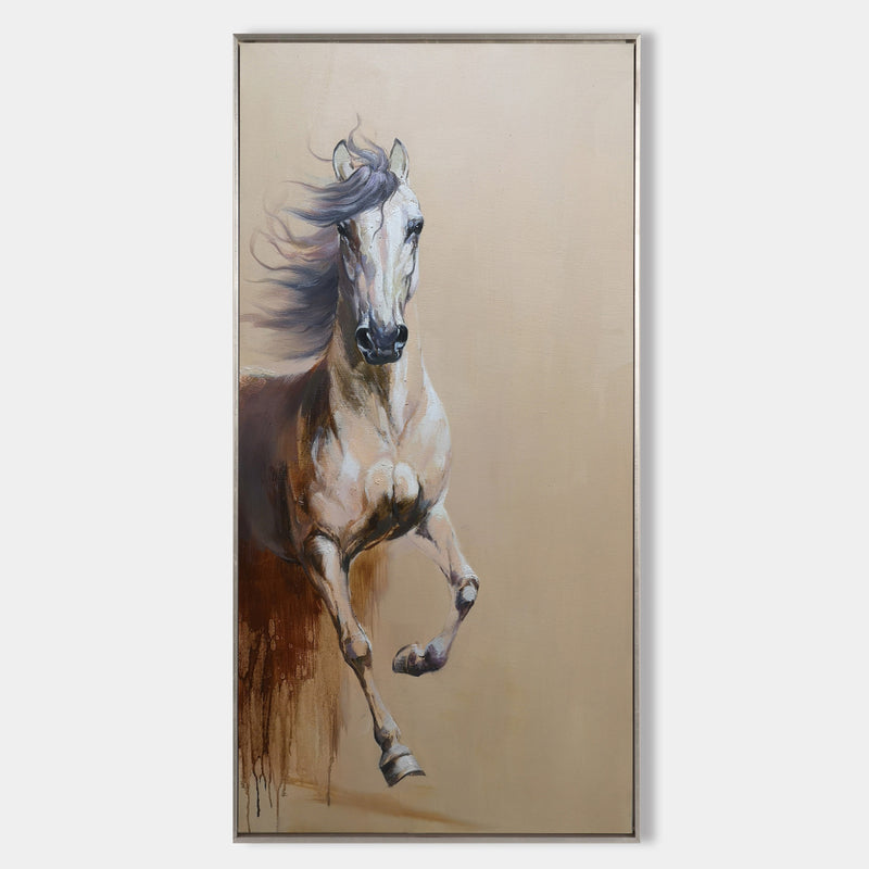 Running Horses Painting Equine Art Arabian Horse Art Large Horse Painting