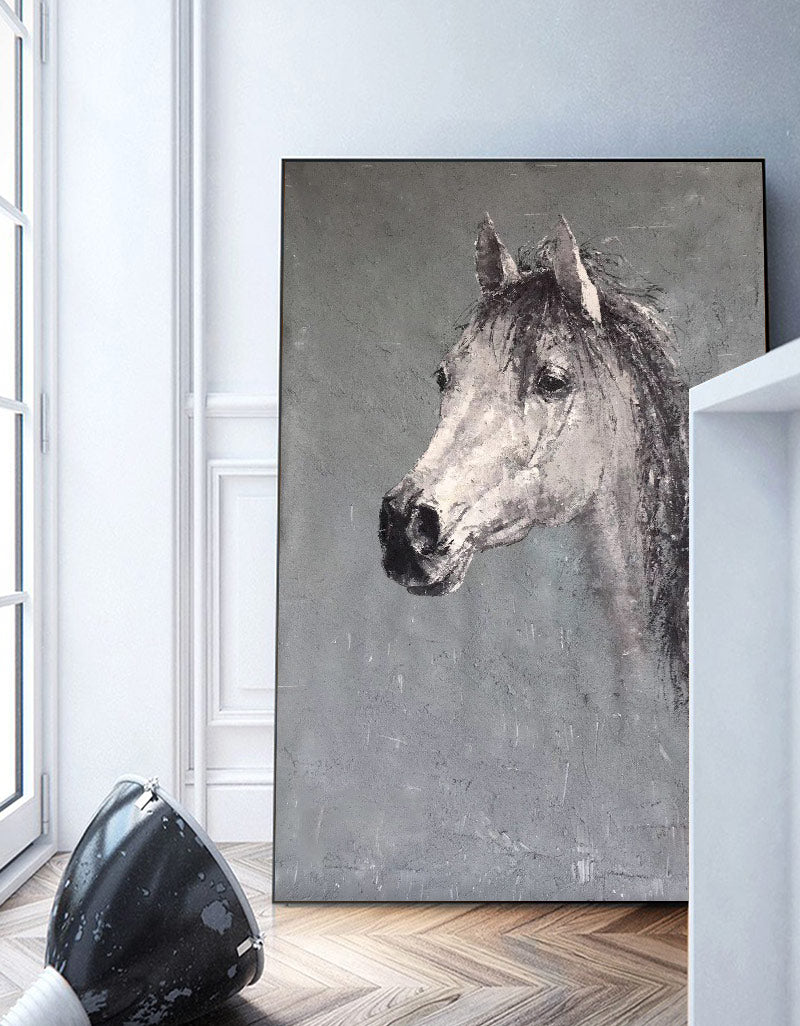 Horse Painting For Kids Horse Artwork Beautiful Horse Art Impressionist Horse Artexplore