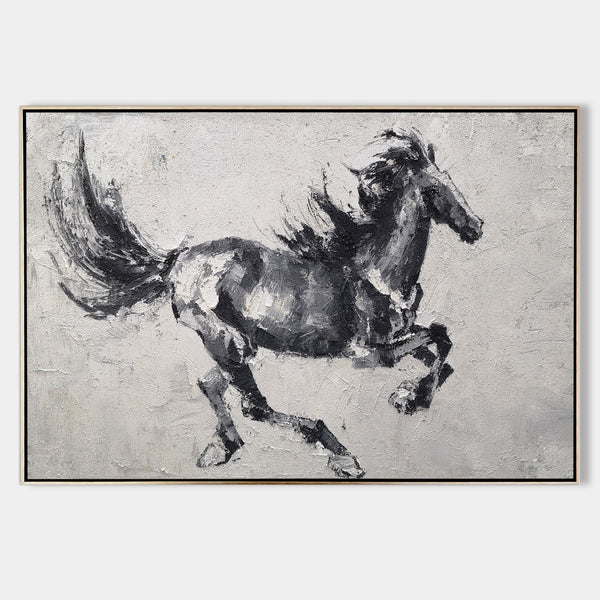[PRODURunning Horses Canvas Wall Art Large Wild Horse Canvas Art Black Horse PaintingCT_TITLE]-[SHOP_NAME]