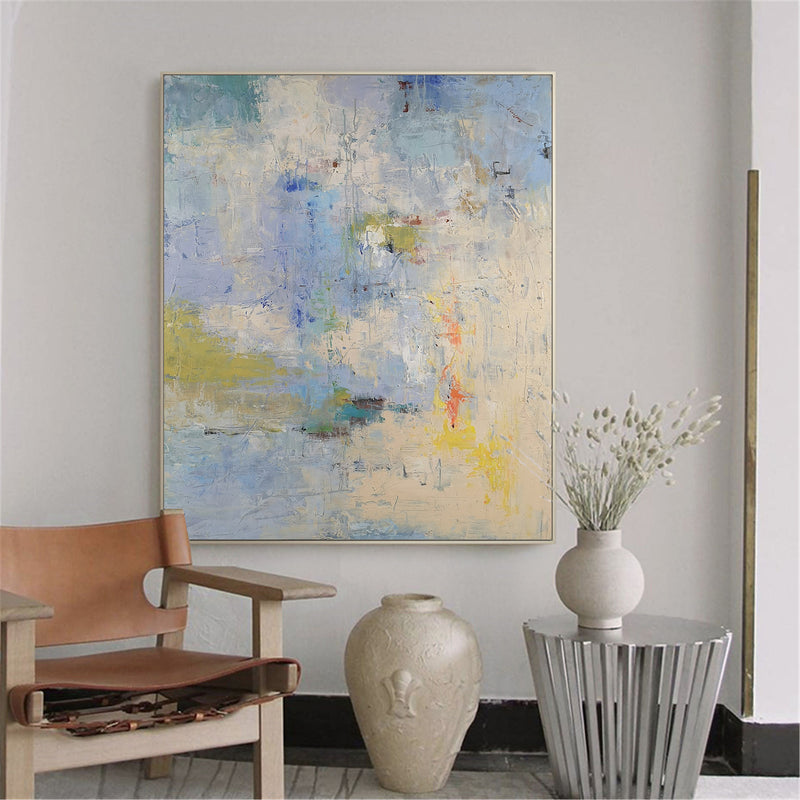 Extra Large Acrylic Abstract Painting On Canvas Contemporary Abstract Art