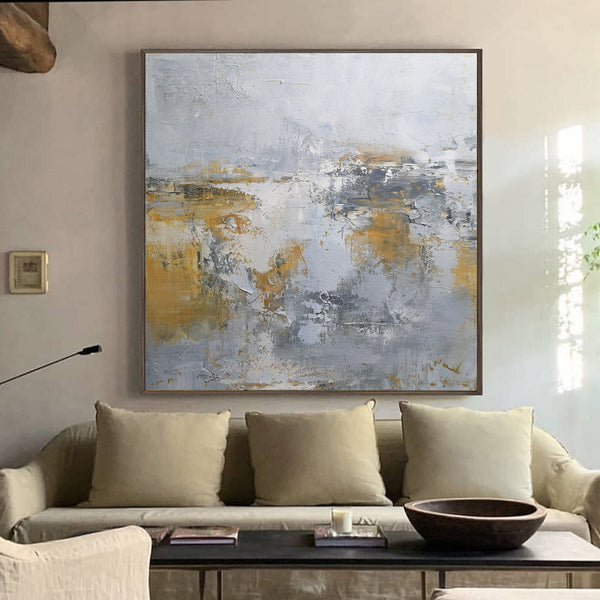 Modern Coastal Wall Art sea Canvas Art Impressionist Seascapes 40x40