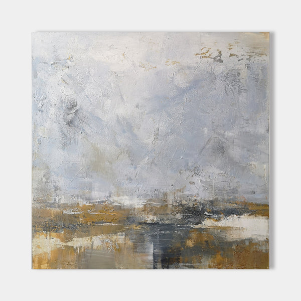 Square Abstract Painting 40'' X 40'' #IS25