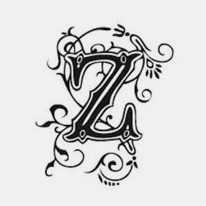 Tampon alphabet arabesque z