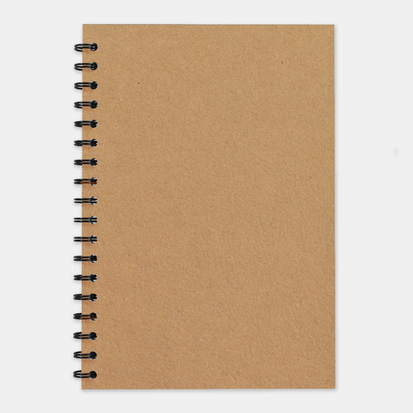 Cahier recycle kraft 210x297 pages unies