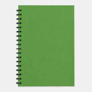 Cahier recycle vert anis 210x297 pages lignées