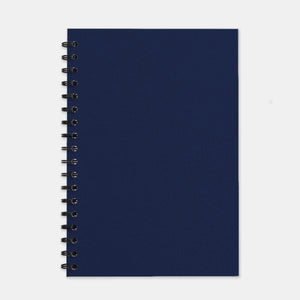 Cahier recycle marine 180x250 pages unies