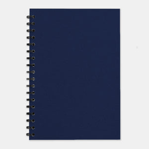 Cahier recycle marine 210x297 pages unies