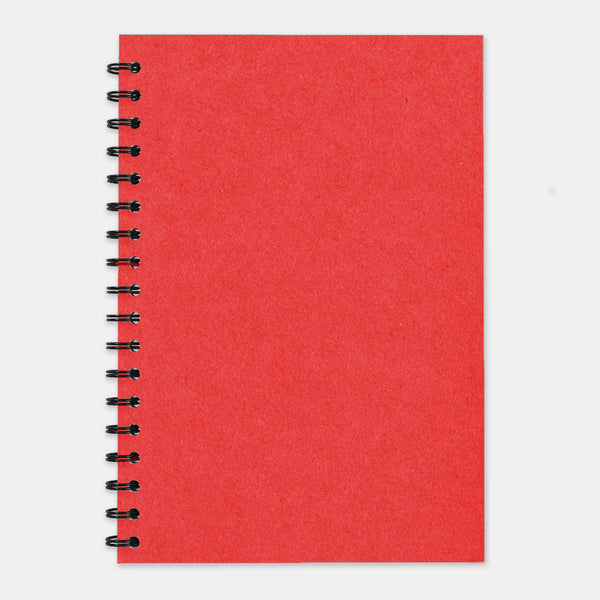 Cahier recycle rouge 210x297 pages unies
