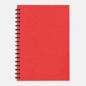 Cahier recycle rouge 210x297 pages lignées
