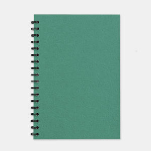 Cahier recycle vert turquoise 180x250 pages unies