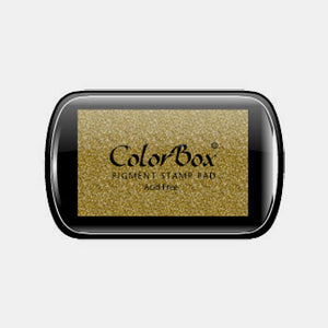Encreur colorbox metallic gold