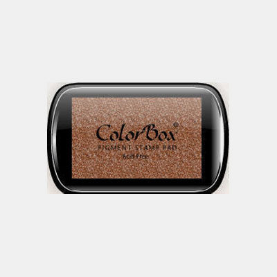 Encreur colorbox metallic bronze