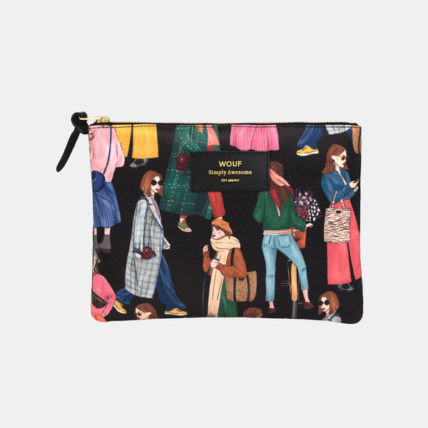 Trousse large pouch Girl