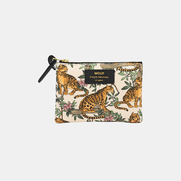 Trousse small pouch Lazy Jungle