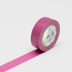 Masking tape uni bordeaux - wine