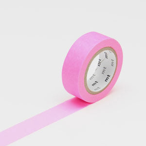 Masking tape uni shocking pink