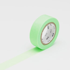 Masking tape uni shocking green