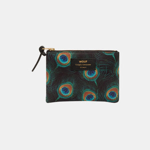 Trousse small pouch Peacock