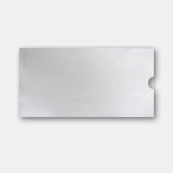 Pochette invitation 110x210 metal quartz