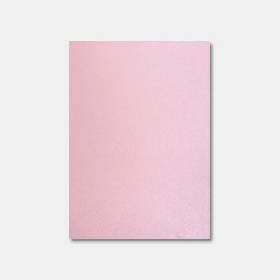 Feuille a4 papier metallise 285g rose