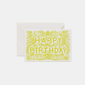 Carte anniversaire - Happy birthday