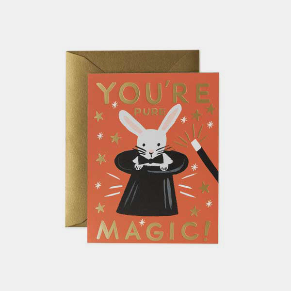 Carte pour dire un mot - You are pure magic