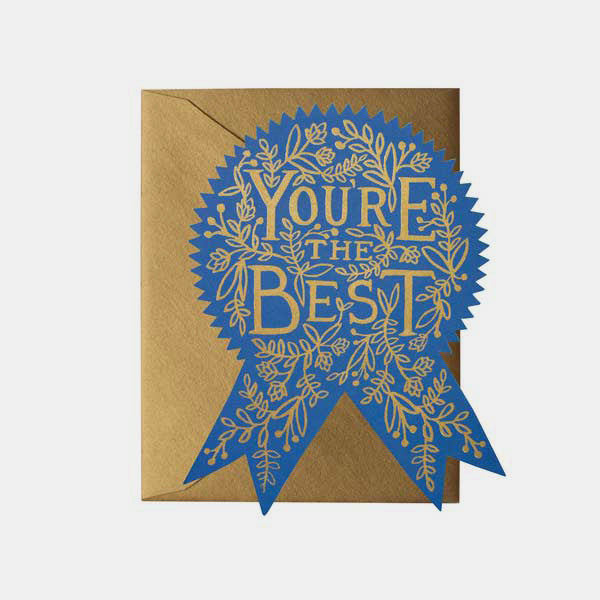 Carte pour dire un mot - You are the best