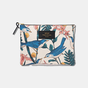 Trousse large pouch Birdies