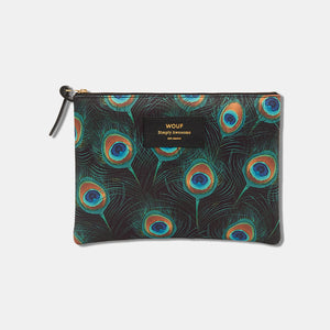 Trousse large pouch Peacock