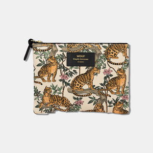 Trousse large pouch Lazy jungle