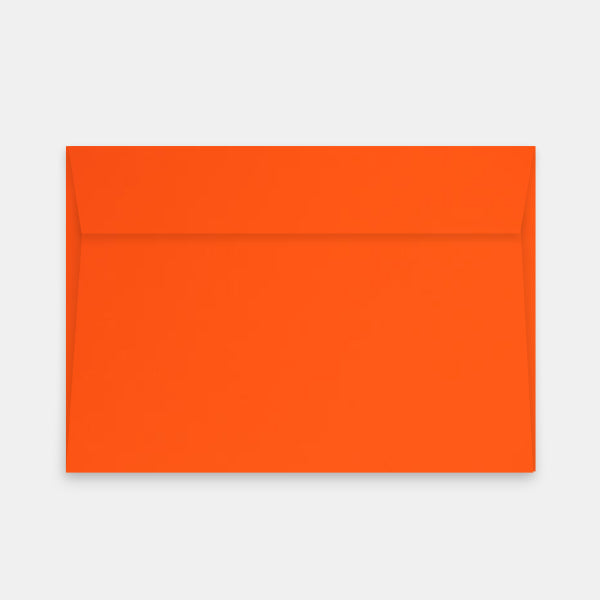 Enveloppe 162x229 mm skin orange