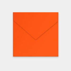 Enveloppe 170x170 mm skin orange