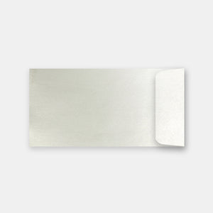 Pochette 115x225 mm metallisee quartz