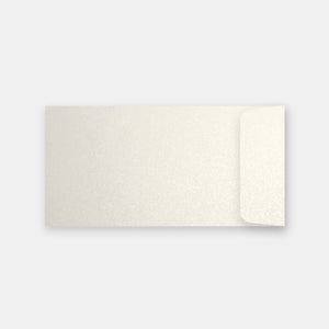 Pochette 115x225 mm pailletee cryogen white